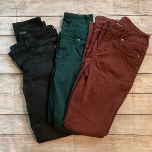 Maurice's • Bundle of 3 Small Jeggings
